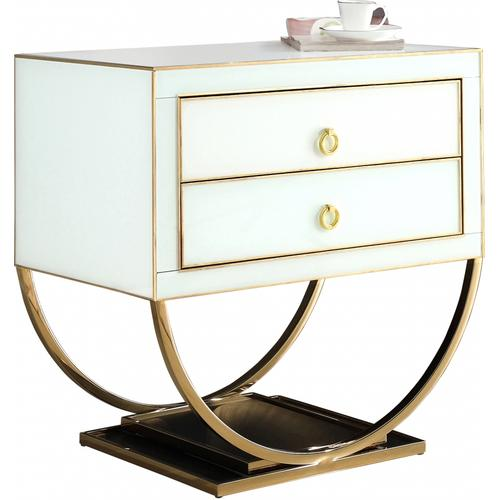 "Alyssa Side Table - 28"" W x 18"" D x 28"" H"