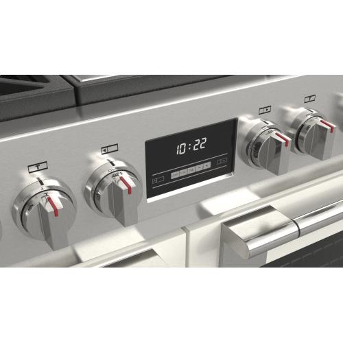 """48"""" All Gas Pro Range - Matte White"""