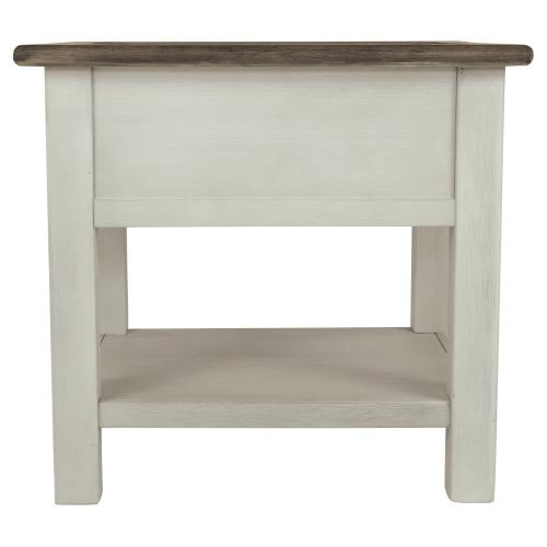 Bolanburg Chairside End Table With Usb Ports & Outlets