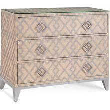 Clarendon Three Drawer Chest in Natural