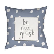 "Be Our Guest QTE-003 18"" x 18"""
