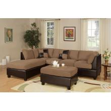 View Product - Sectional W/ Ottoman
