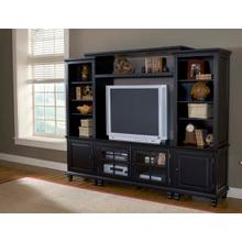 Grand Bay Small Entertainment Center Black