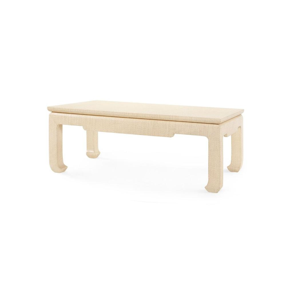 See Details - Bethany Large Rectangular Coffee Table, Natural