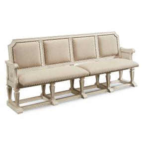 Arch Salvage Becket Dining Bench Cirrus