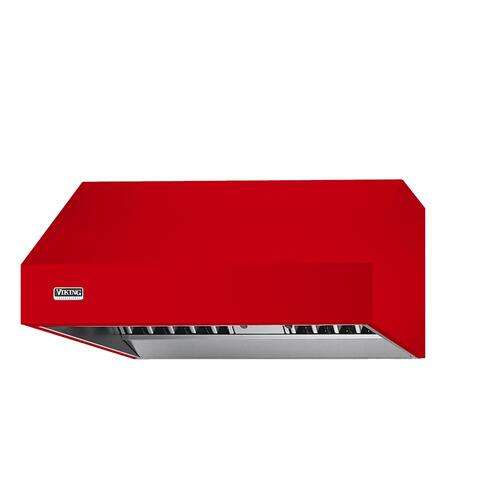 "Racing Red 48"" Wide 27"" Deep Wall Hood - VWH (27"" deep, 48"" wide)"