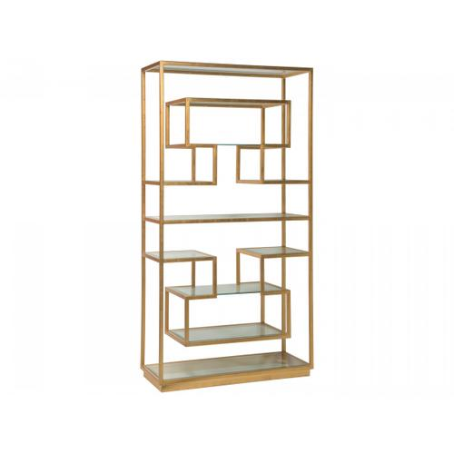 Gold Leaf Holden Etagere