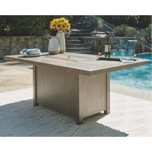 View Product - Windon Barn Rectangular Fire Pit Table Brown
