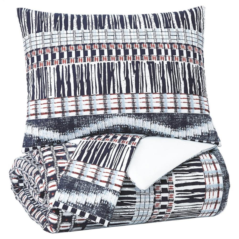 See Details - Shilliam 3-piece King Comforter Set