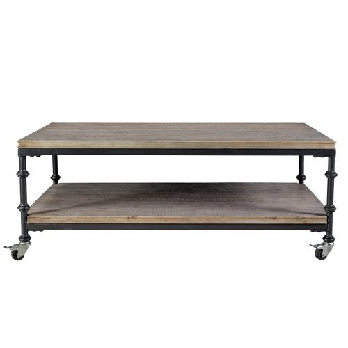 Revival - Coffee Table - Spanish Grey Finish