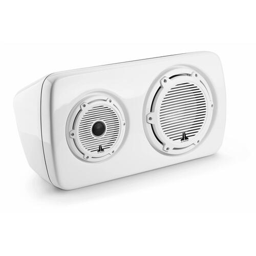 JL Audio - 3-Way, Full-Range Enclosed System, Sealed, Left Side