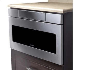 """24"""" Microwave Drawer; Hidden Control Panel; Automatic Drawer Opening System"""