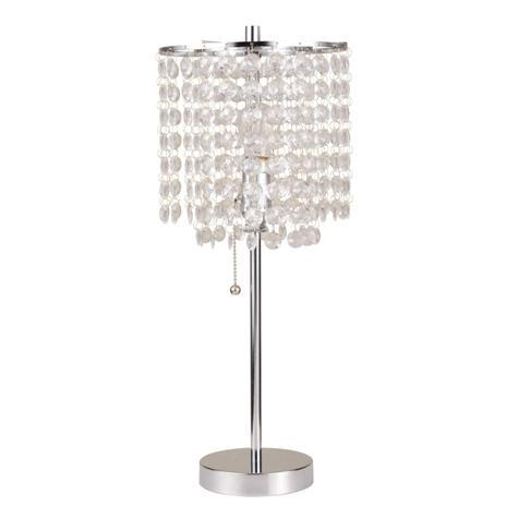 Chrome Table Lamp 19