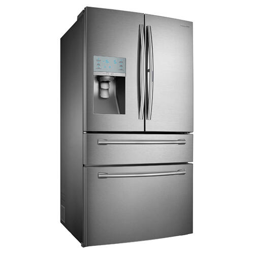 "36"" Wide, 30 cu. ft. Capacity 4-Door French Door Food ShowCase Refrigerator (Stainless Steel)"