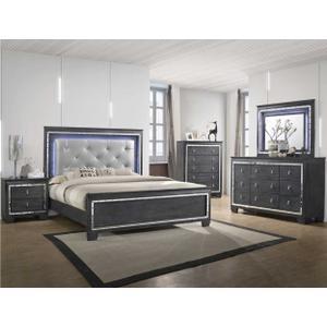 Crown Mark B7000 Perina King Bedroom