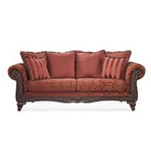 View Product - Wood Trimmed Sofa