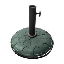 25-Pound Resin Compound Umbrella Base - Dark Green