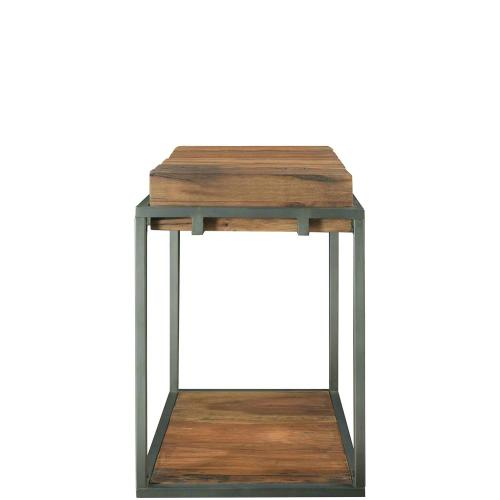Maverick - Chairside Table - Rustic Saal Finish