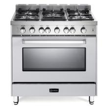 "White 36"" Gas Single Oven Range - 'N' Series"