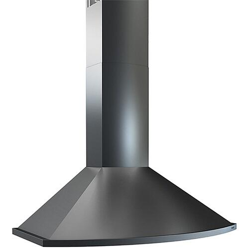 Essentials Europa Series 36-In. Savona Wall Range Hood - Black Stainless Steel