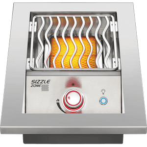 Napoleon GrillsBuilt-in 700 Series Single Infrared Burner with Stainless Steel Cover , Stainless Steel , Natural Gas