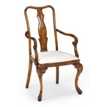 Queen Anne style dining carver chair (Arm)