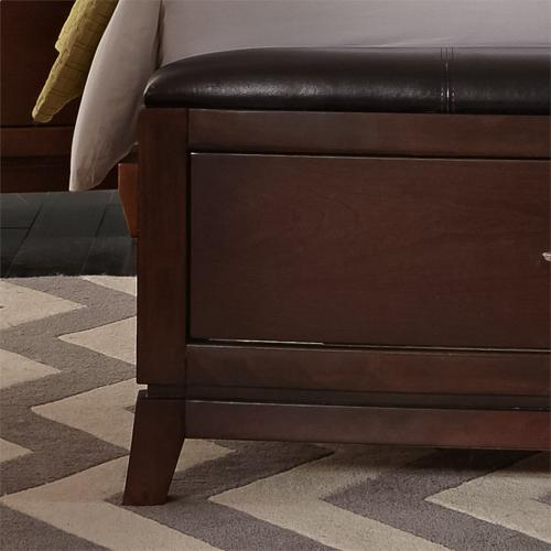 King Panel Storage Bed