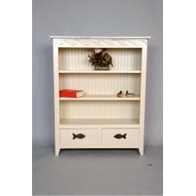 "#483 2 Drawer Bookcase 40""wx13""dx50""h"
