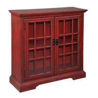 Aged Red Hall Chest Product Image