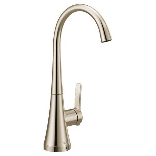 Moen polished nickel one-handle single mount beverage faucet