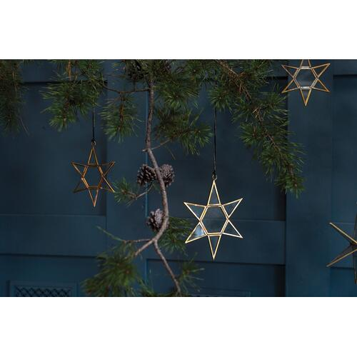 "Accent Decor - Guiding Star Ornament (Size:5.25"", Color:Gold)"