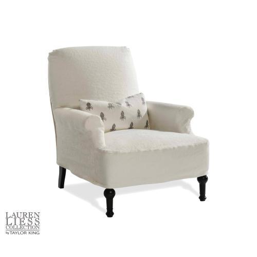 Thinking Mini Slipcovered Chair