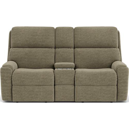 Rio Reclining Loveseat with Console