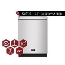 "Kucht 24"" Top Control Dishwasher in Stainless Steel with Stainless Steel Tub and Multiple Filter System"