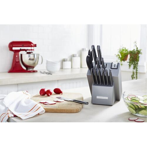 Classic Forged 14-Piece Triple Rivet Cutlery Set - Silver