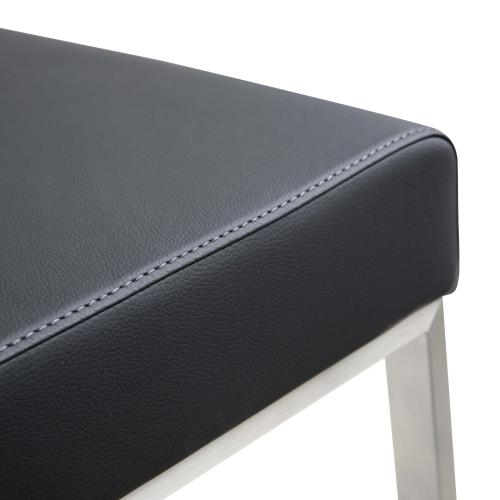 Denmark Black Steel Counterstool (Set of 2)