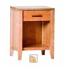 View Product - Luna 1 Drawer Nightstand