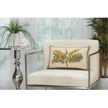 """Royal Palm Ns766 Natural 12"""" X 20"""" Lumbar Pillow"""