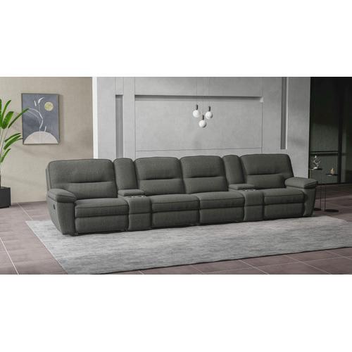 Emerald Home Furnishings - 6 Piece Modular Reclining Sofa Set