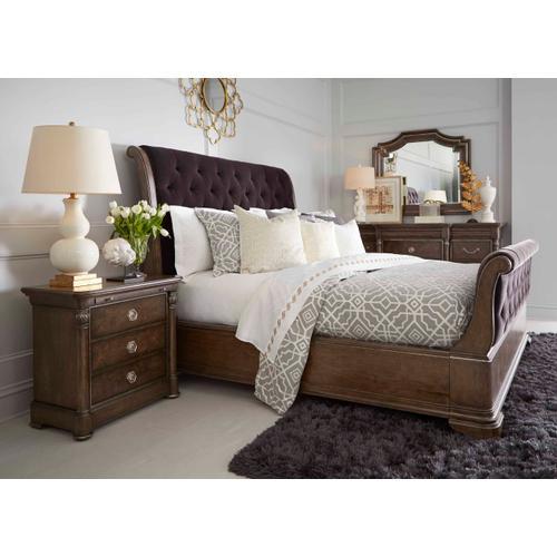 A.R.T. Furniture - Landmark King Uph Sleigh Bed