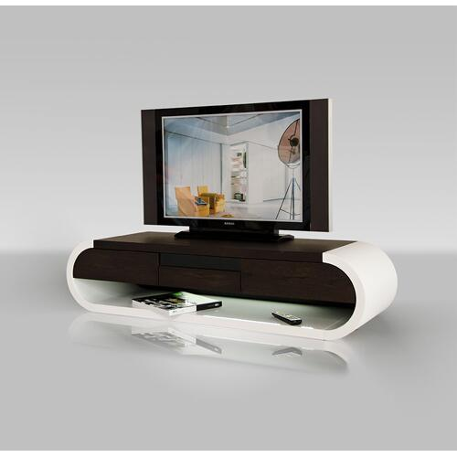 Modrest TV091 - Modern 2-Tone TV Entertainment Unit with Light