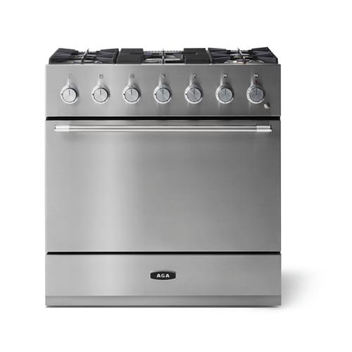 "AGA - Aga Mercury 36"" Dual Fuel Model, Stainless Steel"