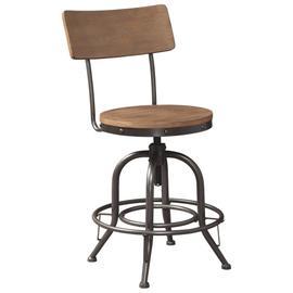 See Details - Pinnadel Counter Height Bar Stool