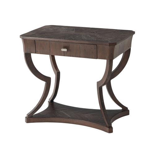 Ennis Side Table, Dark Echo Oak