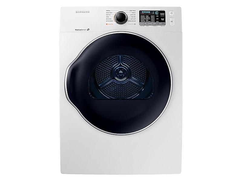 4.0 cu. ft. Electric Dryer in White Photo #1