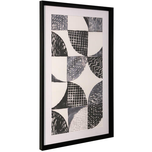 Style Craft - NIGHT SKY I  36in ht X 22in w  Framed Print Under Glass