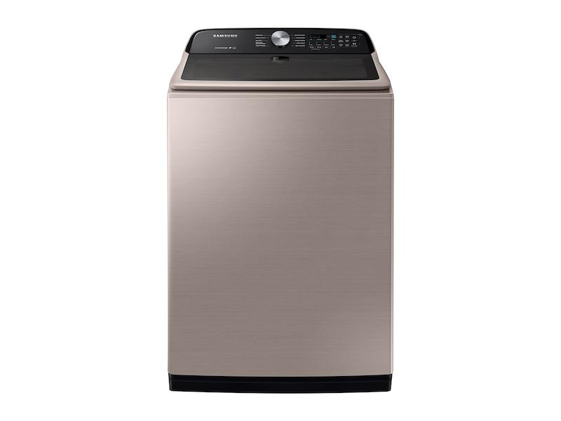 5.0 cu. ft. Top Load Washer with Active WaterJet in Champagne