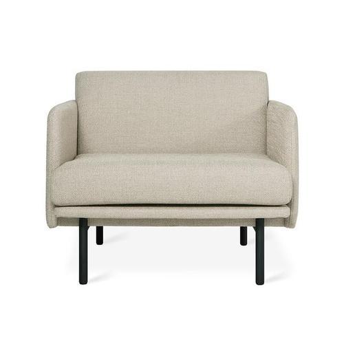 Foundry Chair New Andorra Almond / Black