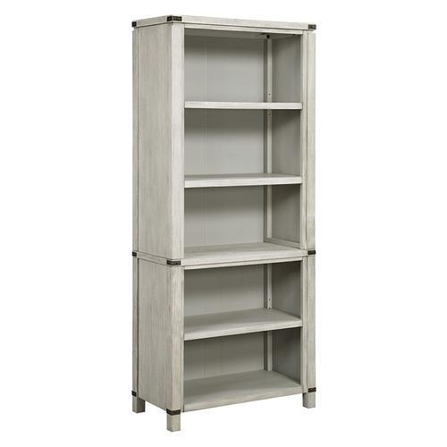 "Office Star - Baton Rouge 72"" Bookcase In Champagne Oak Finish"
