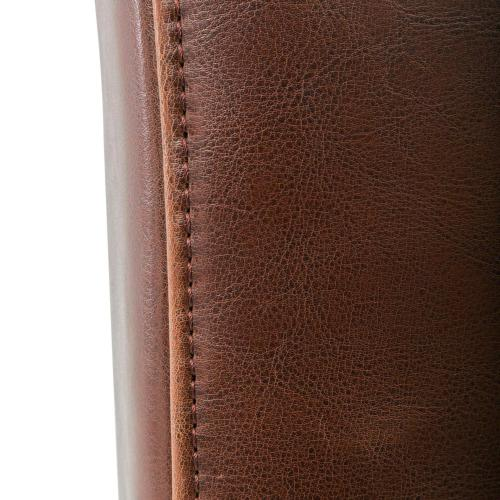 Hartford Leather Dining Side Chair, Cognac